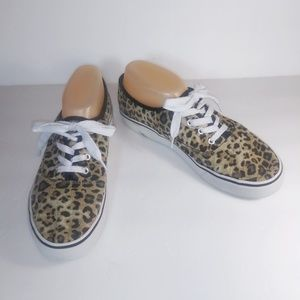 Airwalk Leopard Print Sneakers 9.5